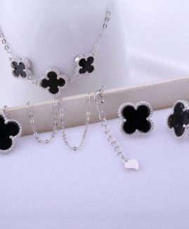 925 Sterling Silver Clover Jewelry